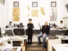 Tod Williams and Billie Tsien. Image by Chistopher Sturman, 2012