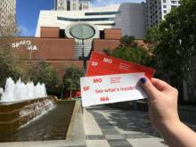 Tickets to SFMOMA