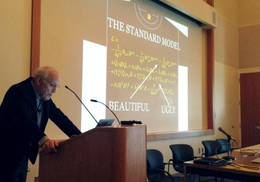 "Nobel Prize winning physicist David Gross discusses beauty and symmetry in science for ""Interrogating Methodologies"" conference, UC Santa Barabara"
