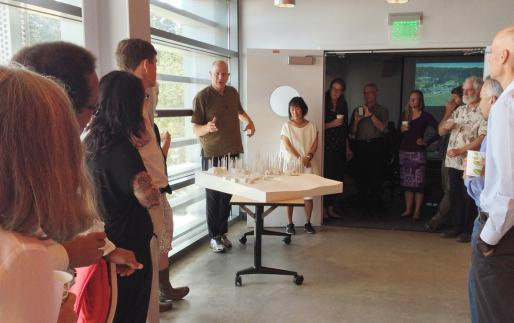 Tod Williams and Billie Tsien on campus, August 2014
