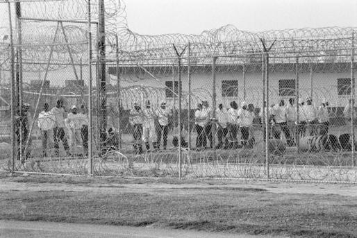 Chandra McCormick, Men going to work in the fields of Angola prison, 2013