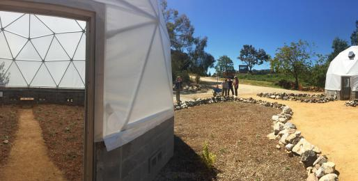 rboretum staff and students work on Future Garden, May, 2018