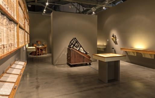 Look Back in Time (Installation View), SJICA. Photo Credit: David Pace
