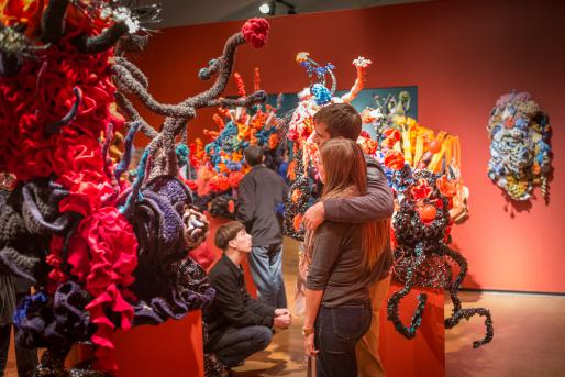 Crochet Coral Reef: CO2CA CO2LA Ocean at Mary Porter Sesnon Art Gallery