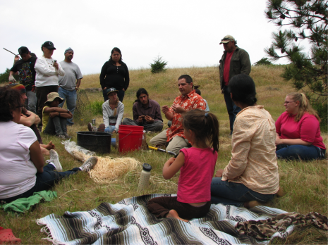 The Amah Mutsun Relearning Program (AMRP) at the UC Santa Cruz Arboretum