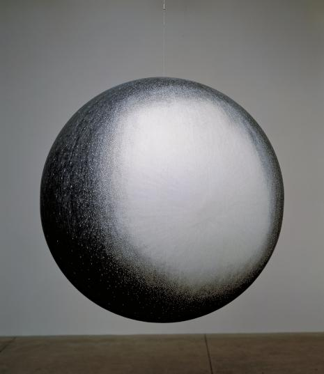 Russell Crotty, , M15 Globular Cluster in Pegasus, 2001, Ink on paper on fiberglass sphere 45 inch diameter, Collection of MOCA Miami